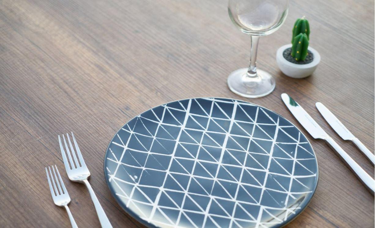 Skandinavischer Stil auf Ihrem Tisch