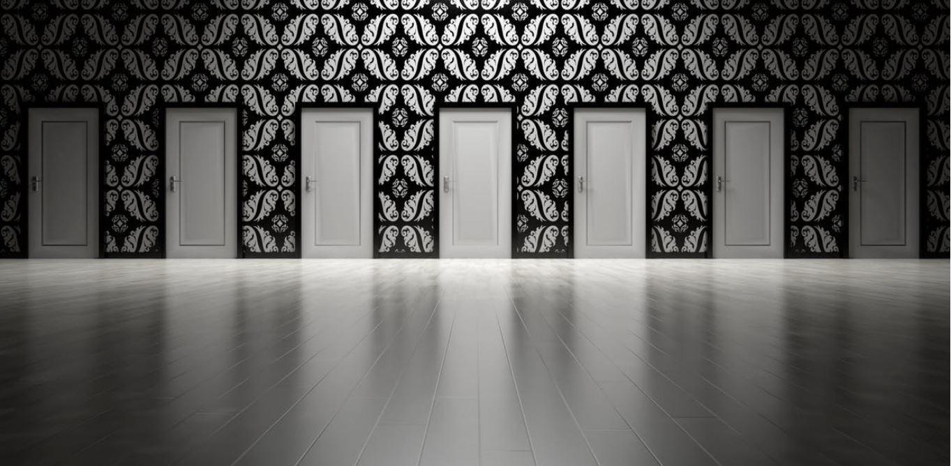Tipps zur Wahl der passenden Farben- Die moderne Zimmertür in weiß